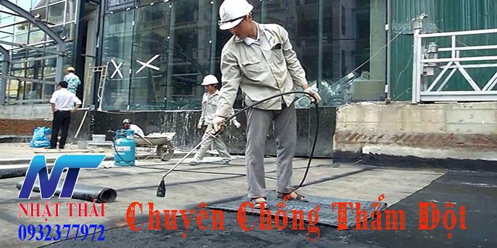 Thợ chuyên chống thấm dột tại TPHCM