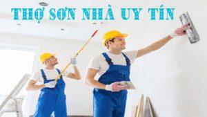 Thợ sơn nhà tại quận thủ đức Tphcm chuyên nghiệp