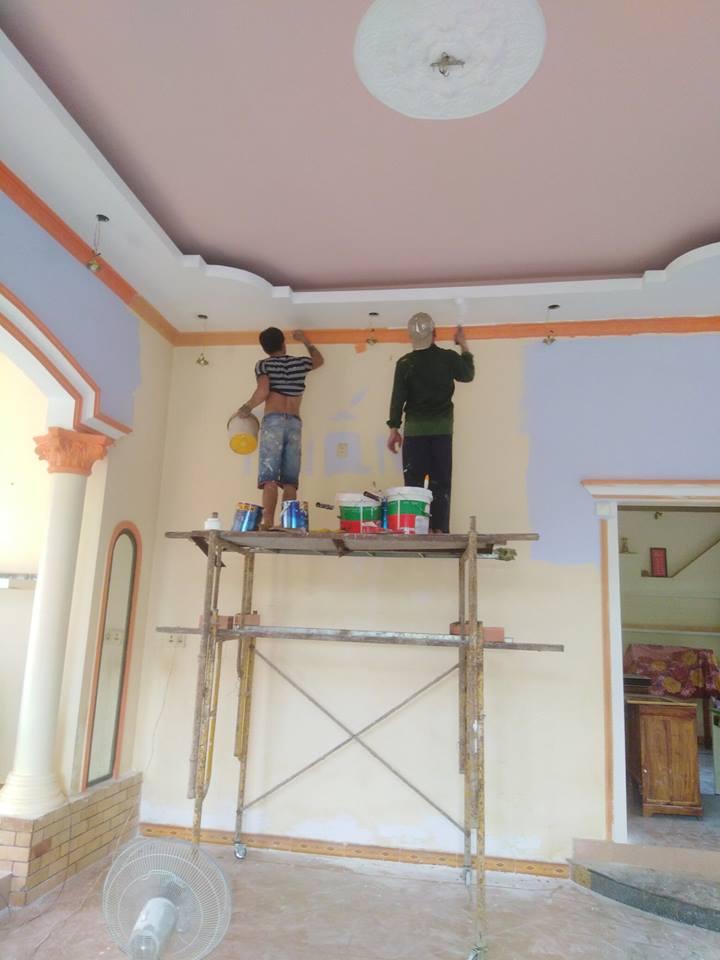 Thợ sơn nhà tại quận 1 đẹp uy tín chuyên nghiệp